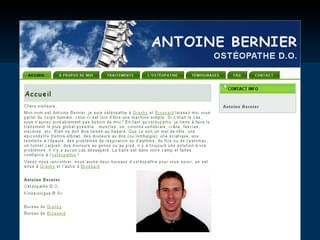 http://www.abernierdo.com est réalisé avec Cms Made Simple