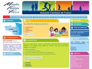 http://www.mutuelle-familiale-56.com/ est réalisé avec Cms Made Simple