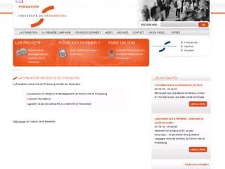 http://fondation.unistra.fr/ est réalisé avec Cms Made Simple