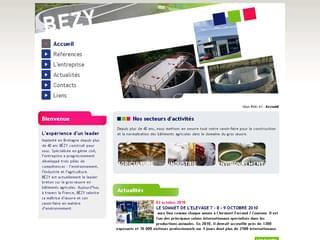 http://www.bezy.fr/ est réalisé avec Cms Made Simple