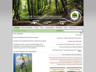 http://www.vienne-nature.asso.fr/ est réalisé avec Cms Made Simple