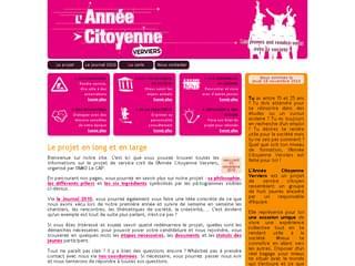 http://www.anneecitoyenneverviers.be/ est réalisé avec Cms Made Simple