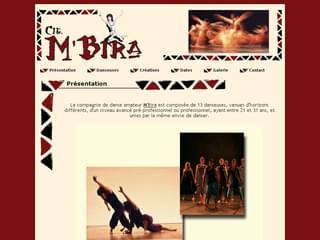 http://www.compagnie-mbira.com/ est réalisé avec Cms Made Simple