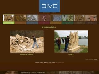 http://www.sylvaindivo.fr/ est réalisé avec Cms Made Simple
