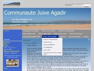 http://www.communautejuiveagadir.com est réalisé avec Cms Made Simple