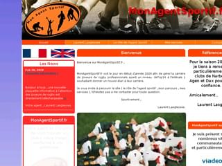http://www.monagentsportif.fr/ est réalisé avec Cms Made Simple