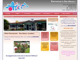 http://www.hotel-alios.com/ est réalisé avec Cms Made Simple