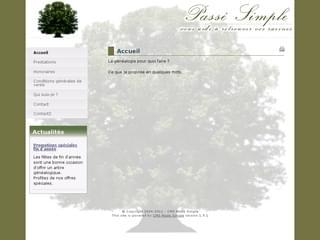 http://www.passesimple.fr est réalisé avec Cms Made Simple