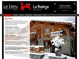 http://dahu-bodega.com est réalisé avec Cms Made Simple