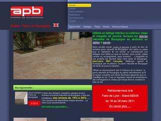 http://www.bourgogne-pierre.fr est réalisé avec Cms Made Simple