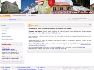 http://www.villenave-pres-marsac.fr est réalisé avec Cms Made Simple