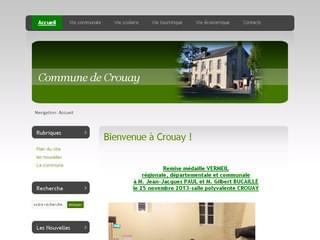 http://www.crouay.fr est réalisé avec Cms Made Simple