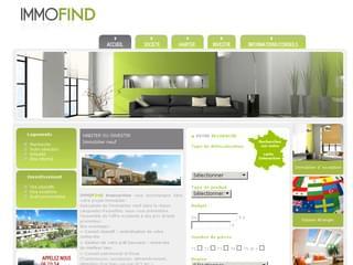 http://www.immofind.fr/ est réalisé avec Cms Made Simple