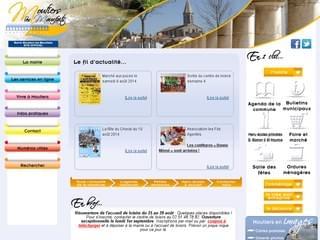 http://www.moutiers-les-mauxfaits.fr/ est réalisé avec Cms Made Simple