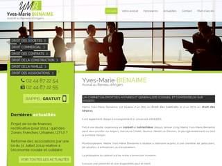 CABINET AVOCATS : Avocat droit des sociétés Angers