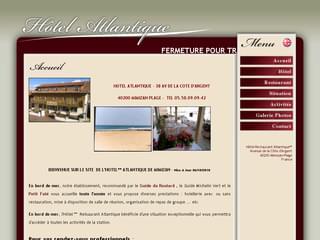 http://www.atlantique-mimizan.fr/ est réalisé avec Cms Made Simple