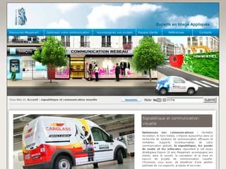 http://www.megamark.fr/ est réalisé avec Cms Made Simple