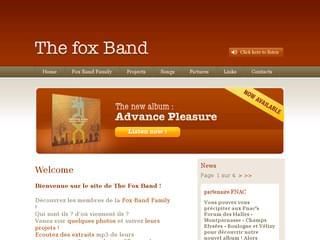 http://www.fox-band.com/ est réalisé avec Cms Made Simple
