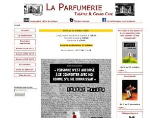 http://www.laparfumerie.ch/@/ est réalisé avec Cms Made Simple