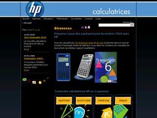 http://www.calculatrices-hp.com/ est réalisé avec Cms Made Simple