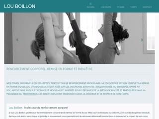 http://louboillon.com est réalisé avec Cms Made Simple