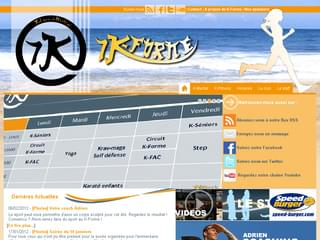http://www.k-forme.com est réalisé avec Cms Made Simple