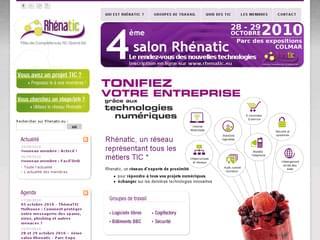 http://www.rhenatic.eu/ est réalisé avec Cms Made Simple