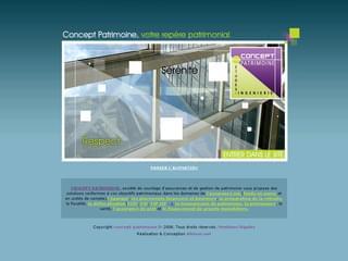 http://www.concept-patrimoine.fr/ est réalisé avec Cms Made Simple