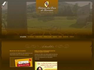 http://www.chateau-sierck.com/ est réalisé avec Cms Made Simple