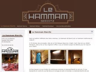 http://www.lehammambiarritz.fr est réalisé avec Cms Made Simple