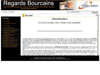 http://www.regardsbourcains.fr est réalisé avec Cms Made Simple