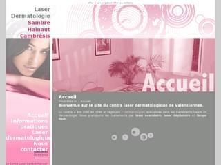 http://www.laser-dermato-shc.fr/ est réalisé avec Cms Made Simple