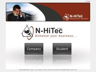 http://www.nhitec.com/ est réalisé avec Cms Made Simple