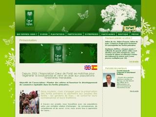 http://www.coeurdeforet.com/ est réalisé avec Cms Made Simple