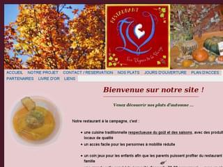 http://www.vignes-de-la-vierge.fr/ est réalisé avec Cms Made Simple
