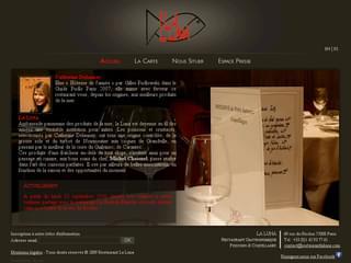 http://www.restaurantlaluna.com/ est réalisé avec Cms Made Simple