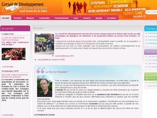 http://www.conseil-developpement-pays-lorient.fr/ est réalisé avec Cms Made Simple
