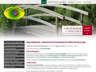 JARDINAGE : Pose terrasse bois composite Cagnes sur Mer
