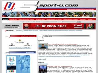 http://www.sport-u.com/cmsms/index.php est réalisé avec Cms Made Simple