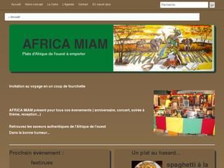 http://www.africamiam.netne.net est réalisé avec Cms Made Simple