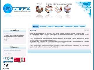 http://www.cofex.fr est réalisé avec Cms Made Simple