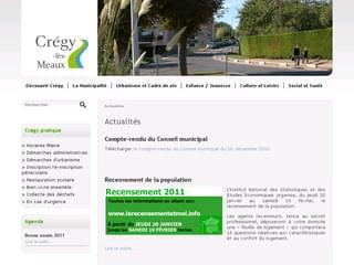 http://www.cregylesmeaux.fr est réalisé avec Cms Made Simple