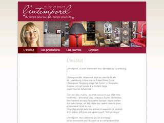 http://www.intemporel.lu/ est réalisé avec Cms Made Simple