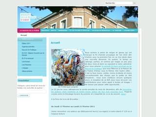 http://www.maisondelapoesie.com/ est réalisé avec Cms Made Simple