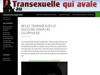 Transexuels à baiser