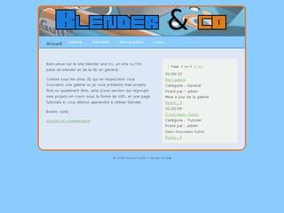 http://www.blender.webou.net/ est réalisé avec Cms Made Simple