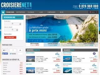 Croisierenet.com, le numéro 1 de la croisière en France