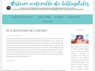 Histoire naturelle de bibliophiles