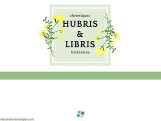 Hubris et Libris