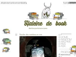 Haleine de book